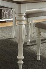 Rectangular Dining Table Leg