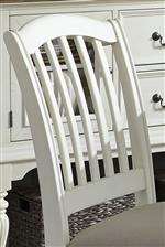 Counter Height Chair Slat-Back