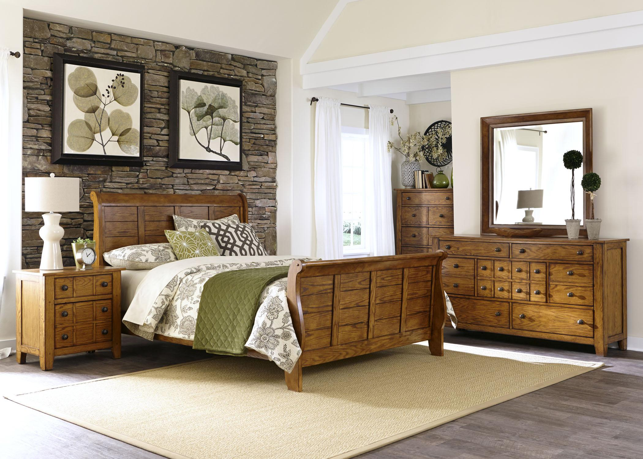 Liberty Furniture Grandpa's Cabin King Bedroom Group - Item Number: 175 K Bedroom Group 1