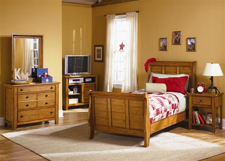 Liberty Furniture Grandpa's Cabin Full Bedroom Group - Item Number: 175 F Bedroom Group 1