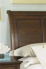 Smooth Curved, Sleigh Headboard
