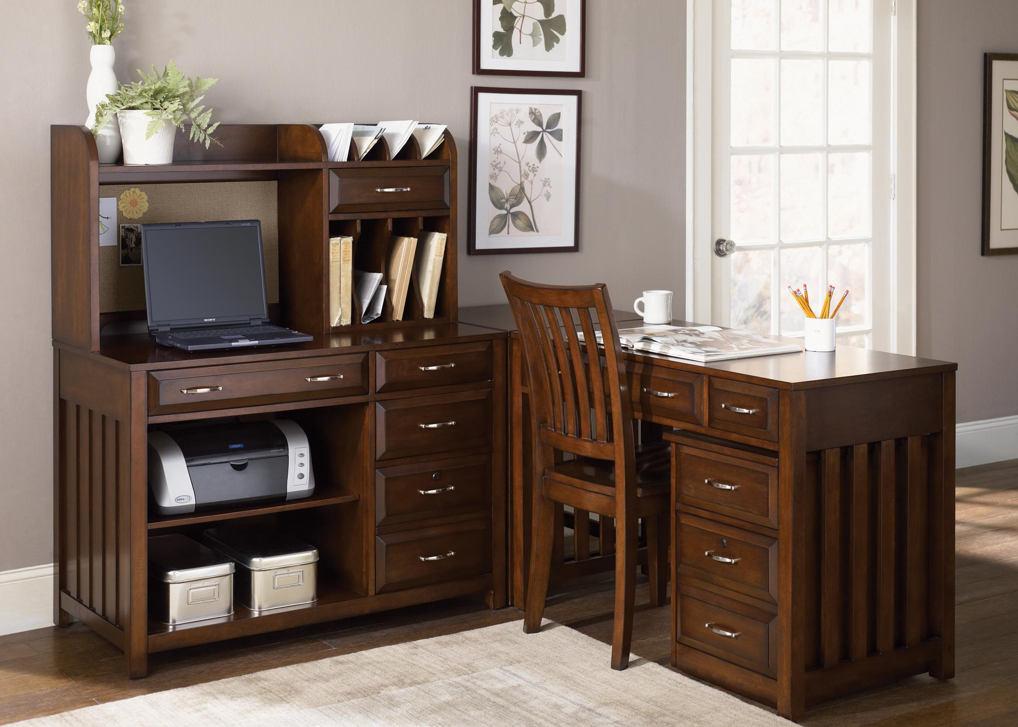 Liberty Furniture Hampton Bay Writing Desk With Drawers Wayside