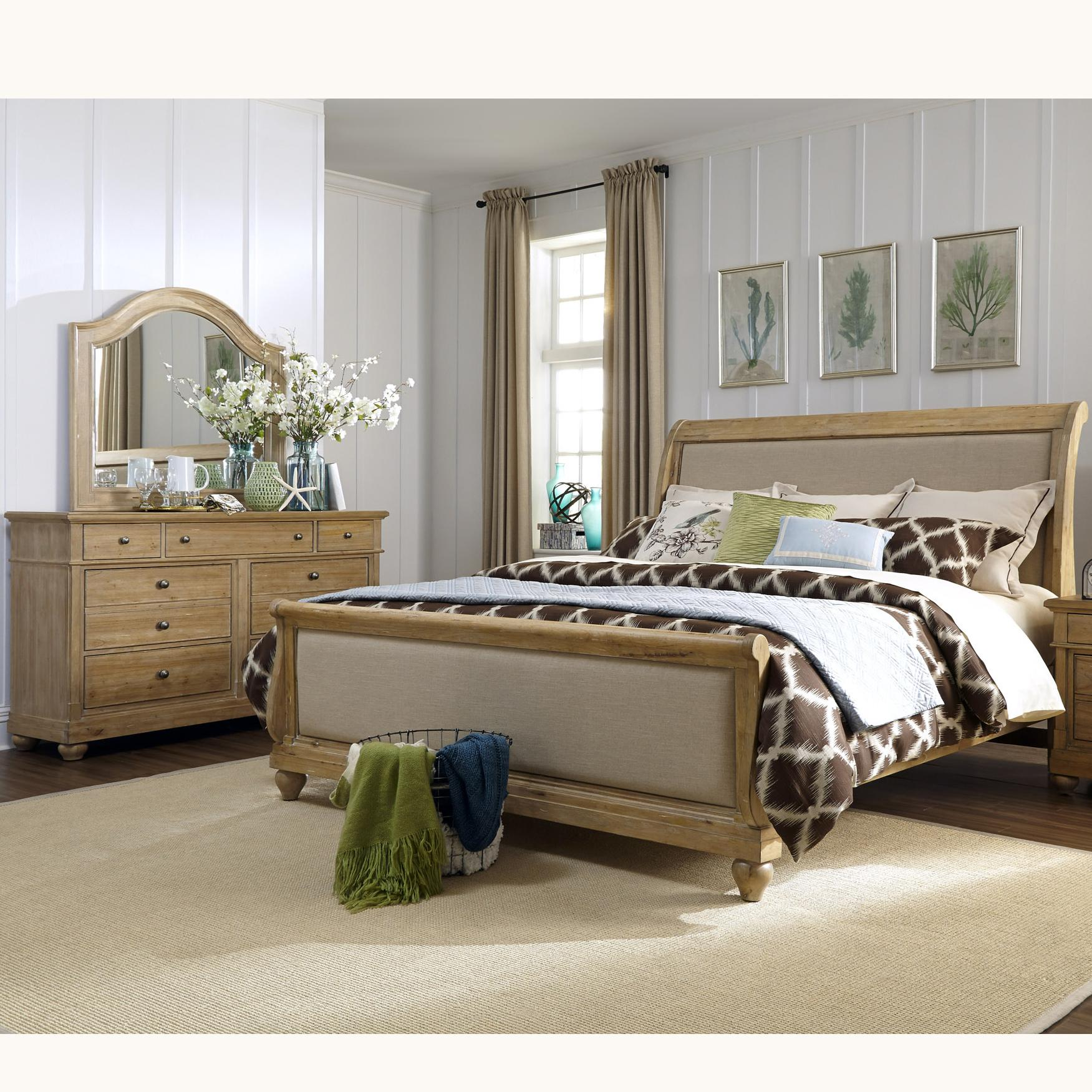 Liberty Furniture Harbor View King Bedroom Group - Item Number: 531-BR-KSLDM