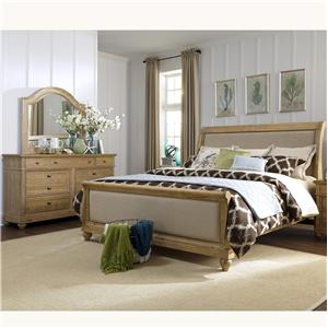 Vendor 5349 Harbor View Queen Sleigh Bedroom Group