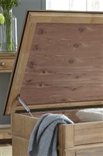 Lift Top Storage Trunk with Cedar Lining
