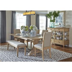Liberty Furniture Harbor View Casual Dining Room Group