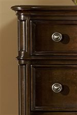 Canted Corners and Beaded and Crown Moulding Accents