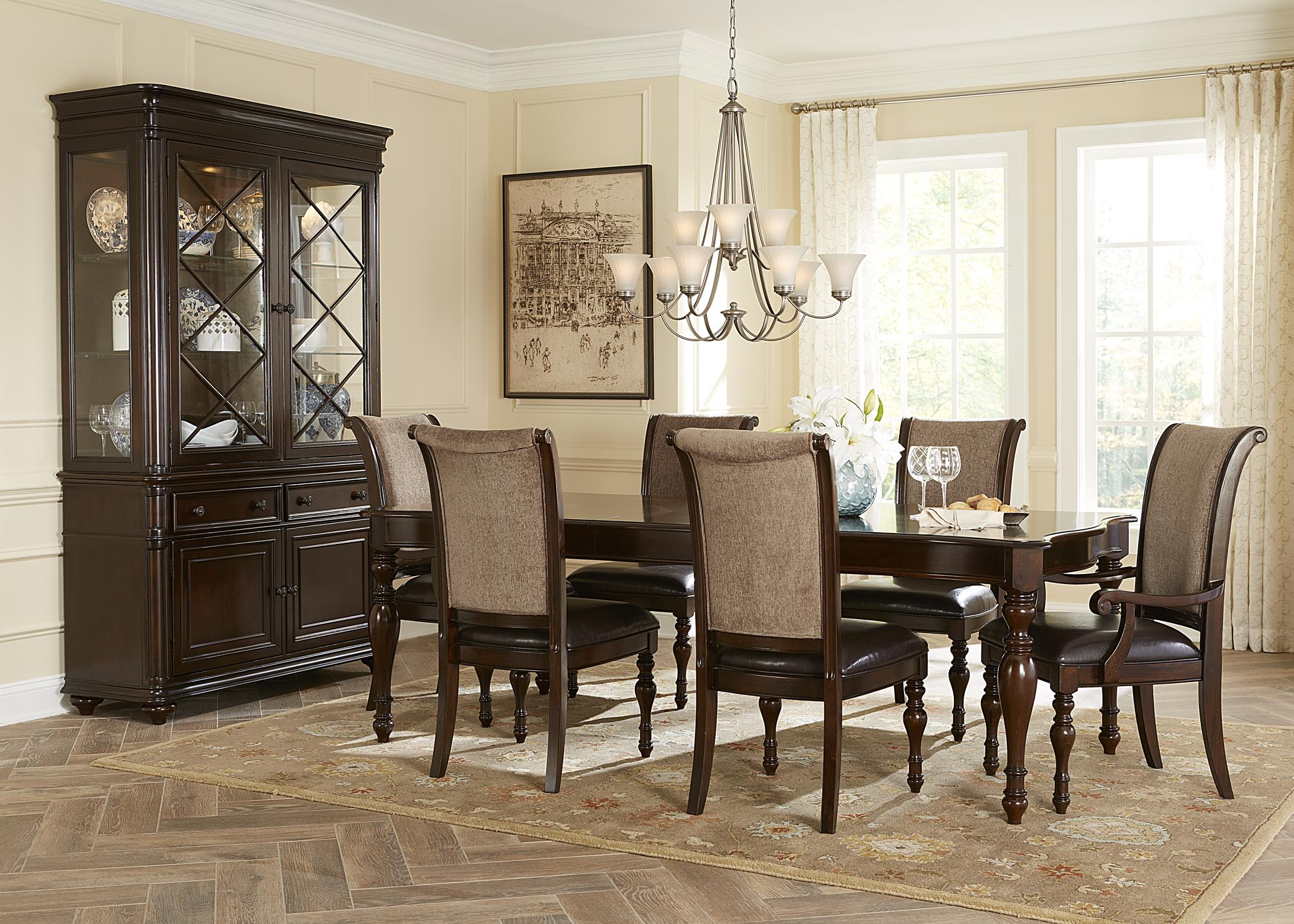 Liberty Furniture Kingston Plantation Writing Desk with Three ...