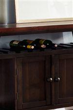 Built in Wine Storage
