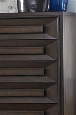 Chamfered Drawer Fronts