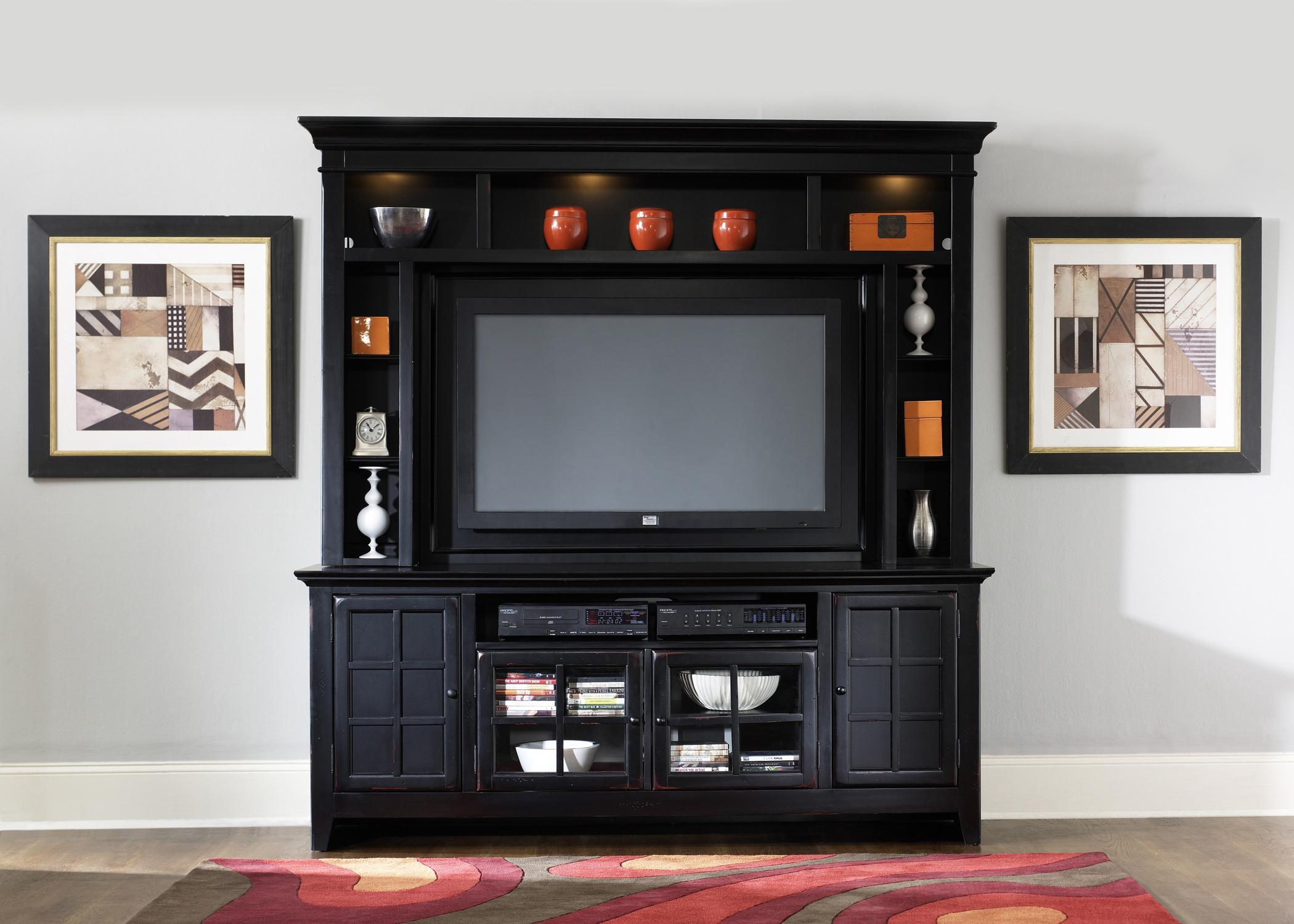 Liberty Furniture New Generation Painted Entertainment Center with