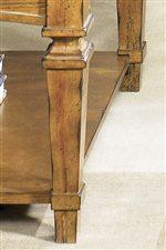 Stately Tapered Leg Design