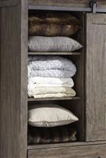 Door chest shelving