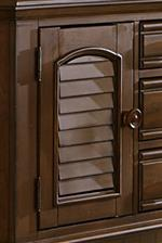 Louvered Panel Accents