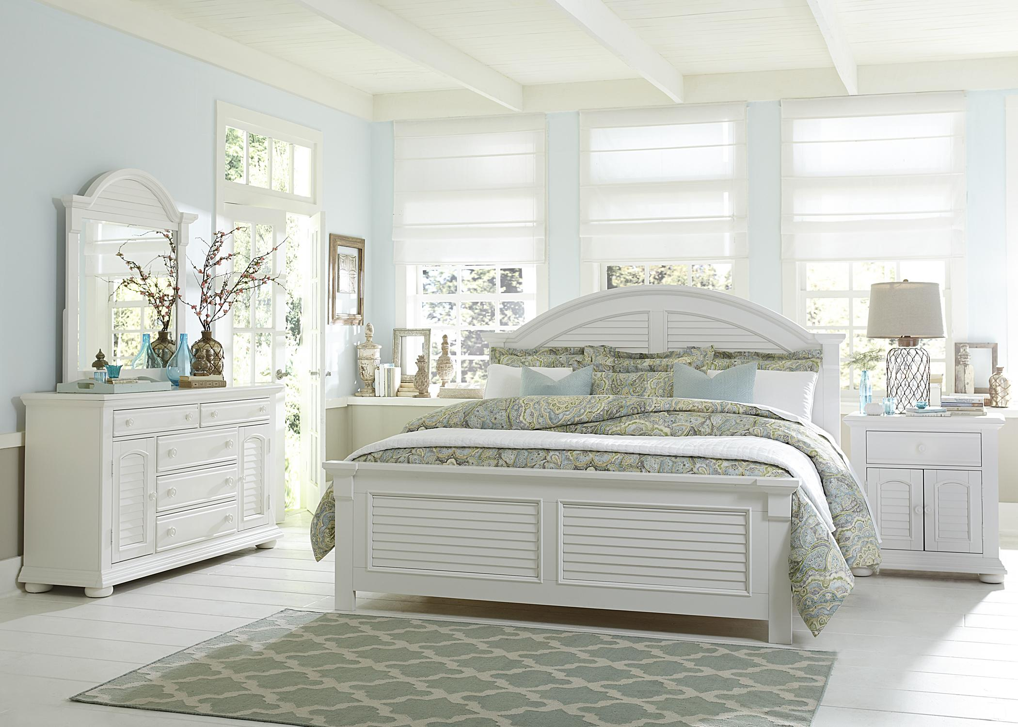 Liberty Furniture Summer House Queen Bedroom Group - Item Number: 607 Q Bedroom Group 1