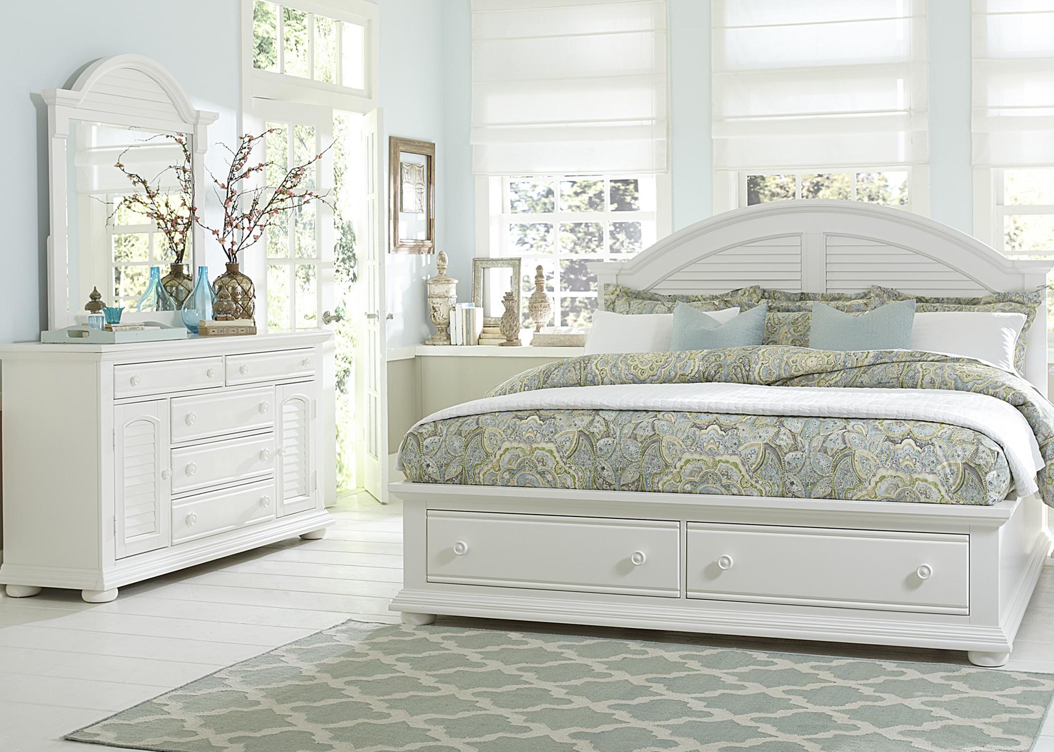 Liberty Furniture Summer House King Bedroom Group - Item Number: 607 K Bedroom Group 4