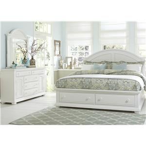 Vendor 5349 Summer House Queen Bedroom Group