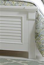 Louvered Accents Throughout Collection