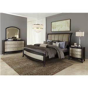 Vendor 5349 Sunset Boulevard King Bedroom Group 2