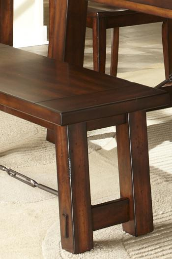 Liberty Furniture Tahoe 7 Piece Dining Table With Slat Back Chair Set    Wayside Furniture   Dining 7 (or More) Piece Set