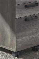 File cabinet drawers and casters