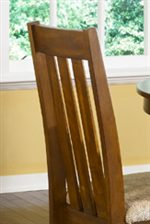 Slatted Chair Back.