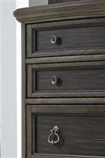 Wood framed drawer fronts