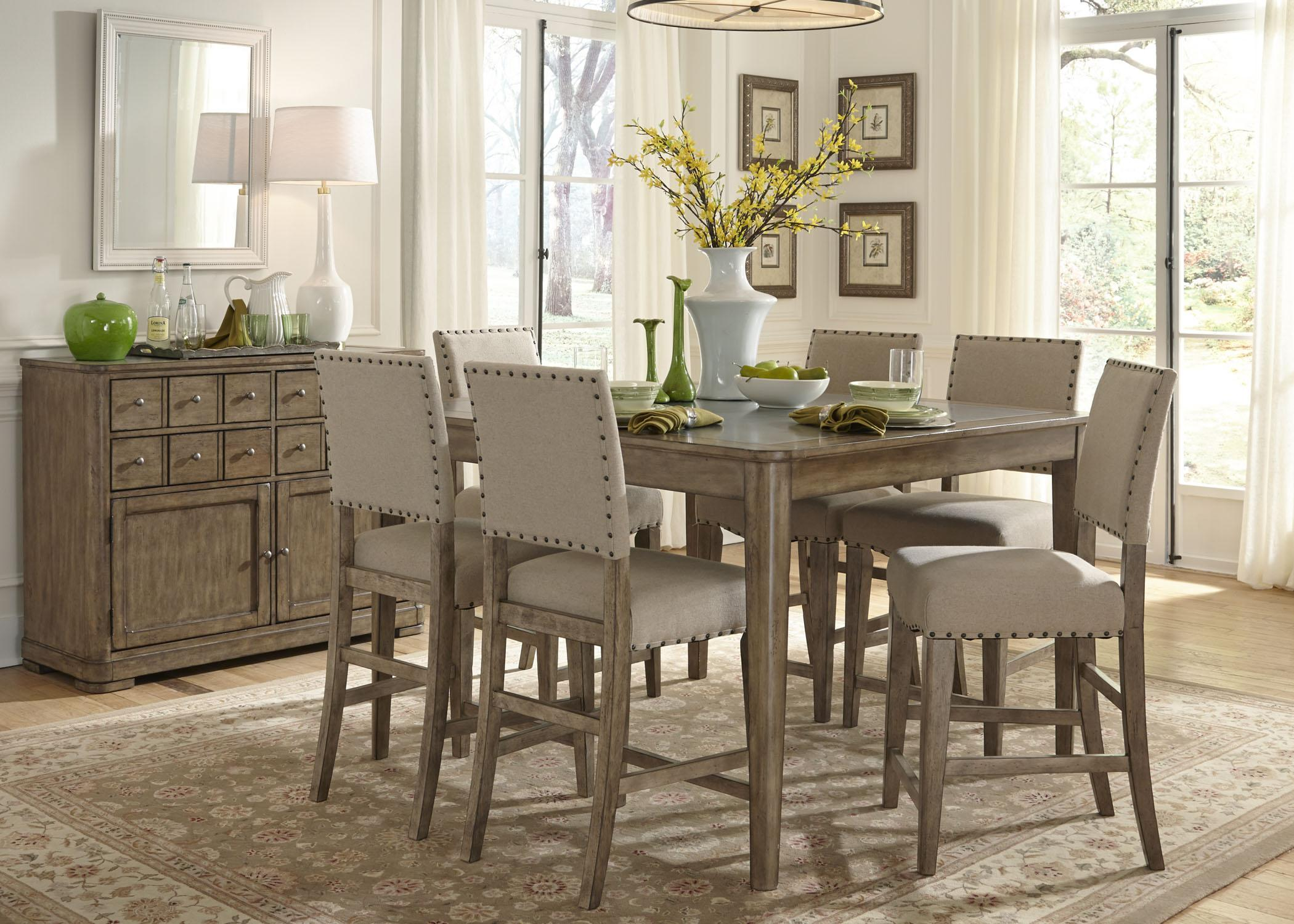 Liberty Furniture Weatherford 645-CD-5GTS 5 Piece Gathering Table Set | Northeast Factory Direct | Dining 5 Piece Set Cleveland Eastlake Westlake Mentor ... & Liberty Furniture Weatherford 645-CD-5GTS 5 Piece Gathering Table ...