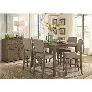 Vendor 5349 Weatherford  Casual Dining Room Group