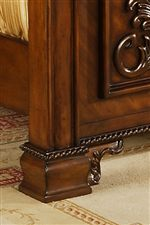 Traditional Bracket Feet with Decorative Moulding