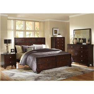 Lifestyle Potbar Queen Bedroom Group
