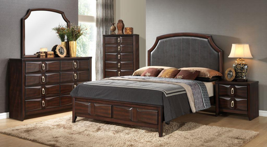Lifestyle Charlie Queen Bedroom Group - Item Number: 4157A Q Bedroom Group 1