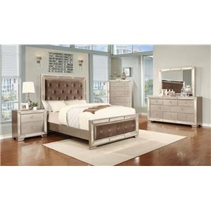 Lifestyle 5218A Queen Bedroom Group