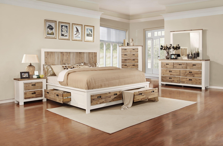 Lifestyle Tommy 5-Piece King Storage Bedroom Set - Item Number: 347 K Bedroom Group 1