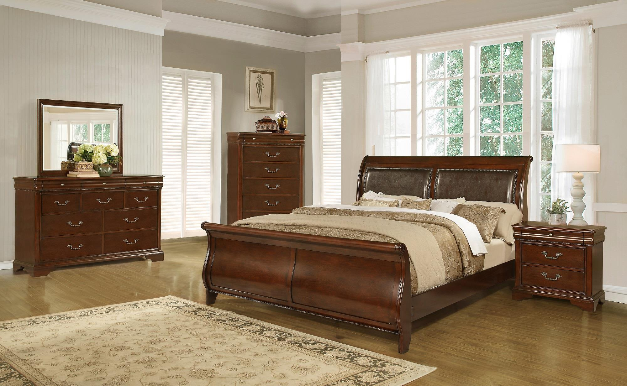 Lifestyle Bedroom Furniture Lifestyle C4116a Traditional Queen Sleigh Bed Furniture Fair