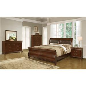 Lifestyle C4116A Queen Bedroom Group