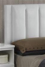Vertical Panels on Upholstered Headboard
