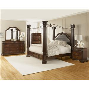 Lifestyle Corinthian King Bedroom Group