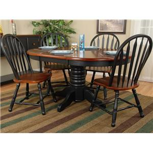 Delightful Ligo Products Country Classics Casual Drop Leaf Dining Table