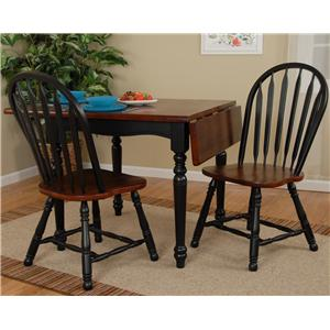 Good Ligo Products Country Classics Casual Drop Leaf Dining Table