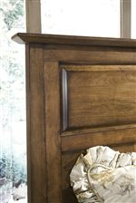 Panel Headboard with Flat Top