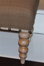 Spool Legs and Nail Head Trim are a Few of the Classic Details Seen Throughout the Modern Bungalow Collection
