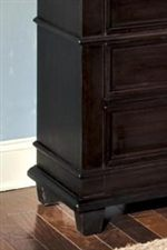 Square Tapered Legs and Waist Molding on Select Casegood Items