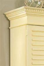 Select Items Have Dentil Molding Detailing