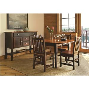 L.J. Gascho Furniture Saber Casual Dining Room Group