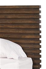 Stacked Slat Design Featured Throughout Collection