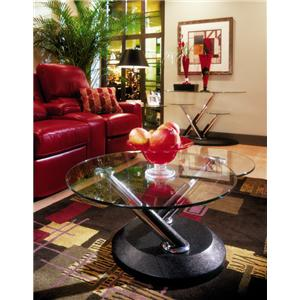 Morris Home Furnishings Vesey Swivel Cocktail Table