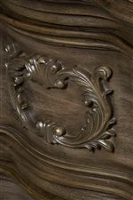 Wood Carved Drawer Fronts