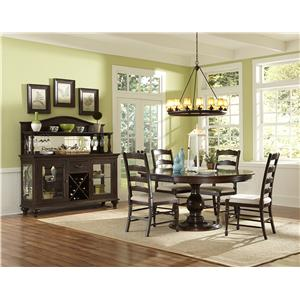 Magnussen Home  Loren Large Round Dining Table