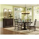 Magnussen Home  Loren Casual Dining Room Group - Item Number: D2470 Dining Room Group 10